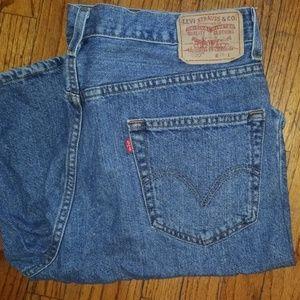 Men's Levi's jean shorts